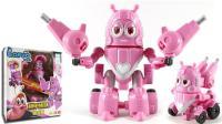 爆笑虫子机甲战队 Pink粉小萌 变形机甲战车玩具 鳕鱼乐园