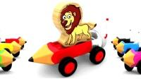 玩具总动员动物T台秀少儿英语abc英语宝宝儿童英语abc