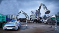 世界上最大的昆虫机器人, 长着6只脚, 网友: 恐怖机器人?