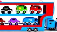 汽车玩具总动员儿童英语大卡车闪电麦昆少儿英语abc