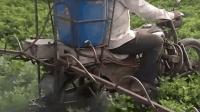 大叔用摩托车耕地, 一天耕五六亩不在话下, 造价才800块