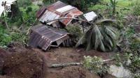 菲律宾山体滑坡致21死 废墟约10个足球场