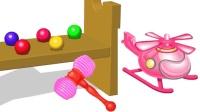 惊喜玩具快乐玩耍敲敲有惊喜儿童英语abc少儿英语abc