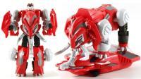 战斗吧灵兽 战车版轰天巨象 土战灵使者之高昂 变形战兽玩具 鳕鱼乐园
