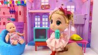 亮亮玩具榨汁机和奇趣蛋玩具试玩, 婴幼儿宝宝教育游戏视频