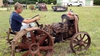 1918年的福特森拖拉机, 没想到100年之后还能开走, 以前的质量真好