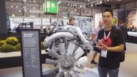 2018汉诺威车展: 斯堪尼亚展出16.35升排量V8发动机
