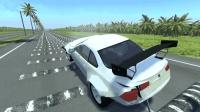 模拟: 汽车强行通过100个减速带会发生什么? 后果不敢设想