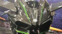 【重庆摩博会】川崎展台 H2R 目前时速最快的摩托车