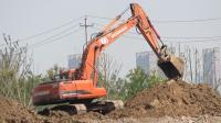挖掘机机动车视频动画片 挖土机视频工作表演大全