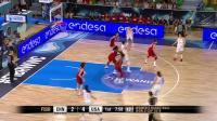2018女篮世界杯小组赛: 中国VS美国