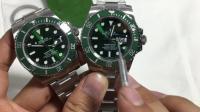 为什么那么多人喜欢绿水鬼? 劳力士Rolex绿水鬼副本大全评测!