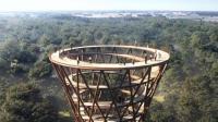 世界最高的螺旋观景塔: 近距离接触大自然, 360度观赏树顶美景!