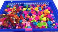 爆兽猎人彩色蘑菇钉玩具