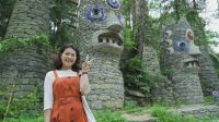 越南妹子来到贵州一座石头城堡, 觉得太厉害了
