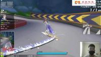 QQ飞车: 星辰的碰碰车日常之大保健破天御剑飞行还是跑不过雷诺