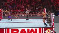 【RAW 09/24】贝莉场外干扰助芬巴洛尔取胜, 金德马哈尔擂台秀呼吸法减压