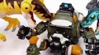 酷炫的恐龙机器人模型, 战斗霸王龙机器模型