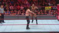【RAW 09/24】欧文斯误伤巴比-莱斯利 伊莱亚斯意外被判输掉比赛