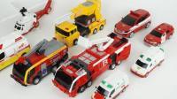 工程车吊车小汽车玩具组装酷炫机器人