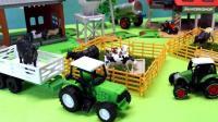 组装宽敞舒适的农场饲养各种小动物们