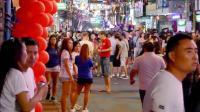 中国游客来到泰国, 发现夜生活很丰富, 妹子也多, 太嗨了!