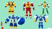 星原小宝变形机器人玩具  超好玩的战斗机器人