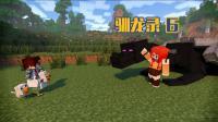 甜萝酱我的世界 Minecraft《生活大冒险之驯龙录》多模组生存#6 孵化火龙, 击杀蛇发女妖