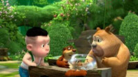 熊出没熊大熊二 奥特曼 喜羊羊中秋节吃月饼筱白解说