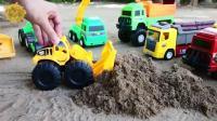 最新挖掘机工程车儿童玩具视频