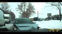 最新国外车祸视频, 战斗民族交通事故集锦, 行车记录仪Video005