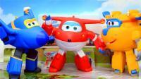 超级飞侠变形玩具 乐迪、多多、小爱全套玩具