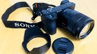 索尼a6500微单配E16-70z镜头, 真的有一套, 看看几个镜头大小对比。