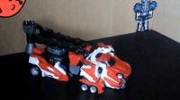 模玩分享多美卡超救援烈焰克星载具模式(机动救急警察)-萝卜吐槽番外