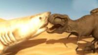 战争模拟器 侏罗纪恐龙大乱斗爆笑史上最搞笑霸王龙筱白解说