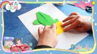 萌宝家园手工课堂: 手工仙人掌折纸, 儿童简单折纸仙人掌, 手工折纸视频, 手工巧巧手