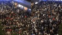 人从众 国庆期间的北京西站 所有人都是九饼中间的点
