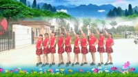 建群村广场舞单人水兵舞《惜别的海岸》编舞四川蓉蓉2018年最新广场舞带歌词