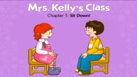 Little Fox小狐狸英语动画  凯丽老师的课堂5  坐下  常用英文表达