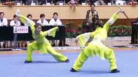 第十届全运会女子武术套路预赛 女子对练 003 对刺剑(浙江)
