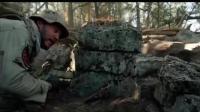 孤独的幸存者, 突击队山谷交战, 全程惊险