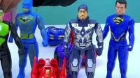 奥特曼之英雄联盟玩具蛋变形绿巨人钢铁侠