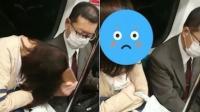 女子坐地铁靠男子熟睡 遭其掏手机猛击头部