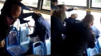 """男子乘公交被挤骂""""东北没好人"""" 遭乘客围殴"""
