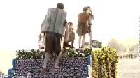 高能少年团: 杨紫看王大陆太累了, 让王大陆坐着挤!