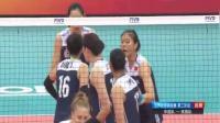 荡气回肠! 中国女排3-2险胜美国女排, 全程回顾疯狂的决胜局比赛