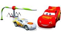 闪电麦昆华丽换新装汽车玩具总动员儿童英语天天向上少儿英语abc