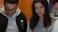 四川方言 两夫妻电梯尴尬相遇, 当门打开的一瞬间尴尬了