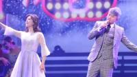 张杰成都演唱会唱《第一夫人》谢娜跳舞, 两人太甜, 全场沸腾了!