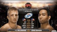 UFC典藏版比赛! 雏量级现任王者TJ迪拉肖早年UFC遭虐视频回放